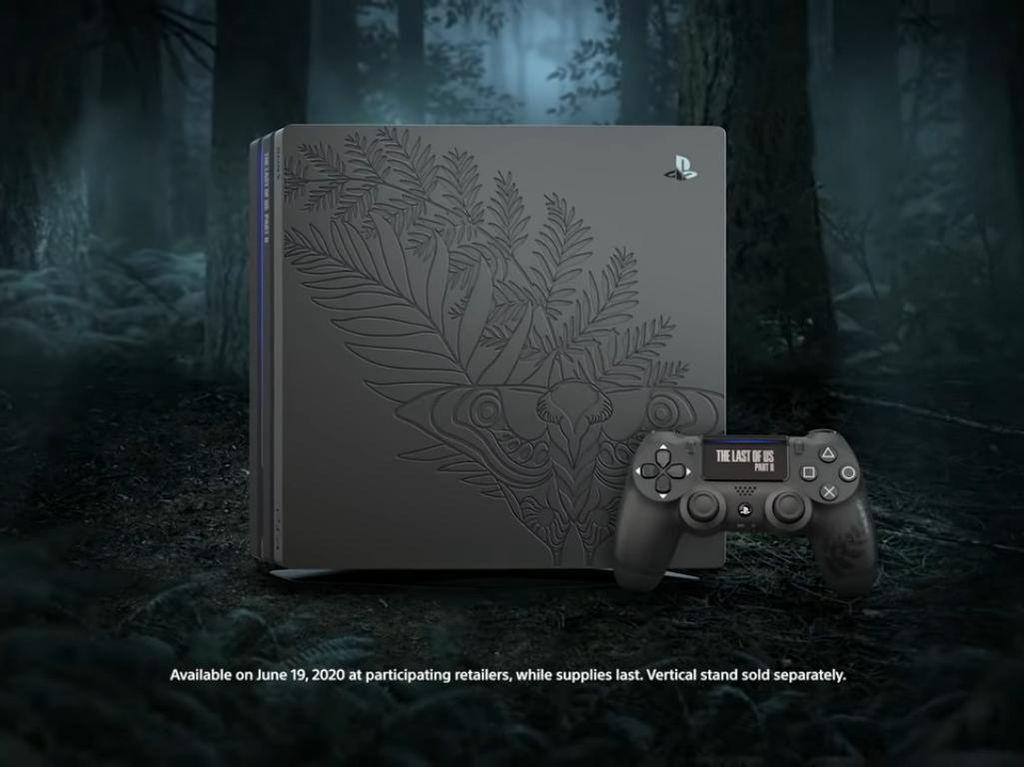 Keren! Sony Perkenalkan PS4 Pro Edisi The Last of Us Part II