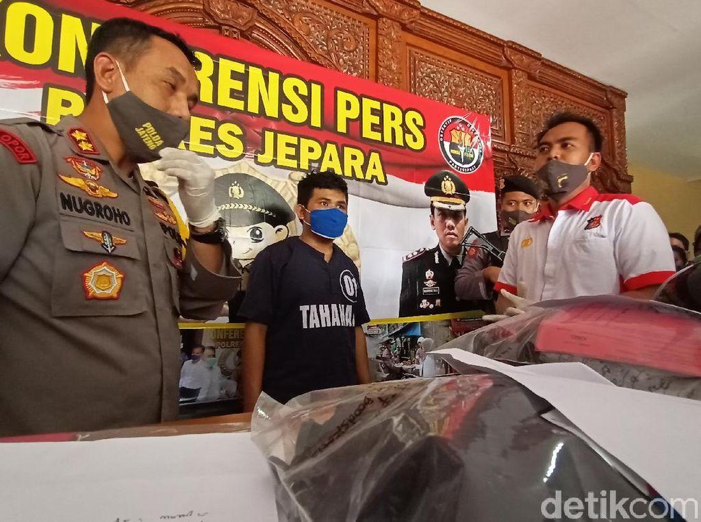 Bawa Motor Korban, Pembunuh Sintya di Jepara Sempat Kabur ke Tasikmalaya