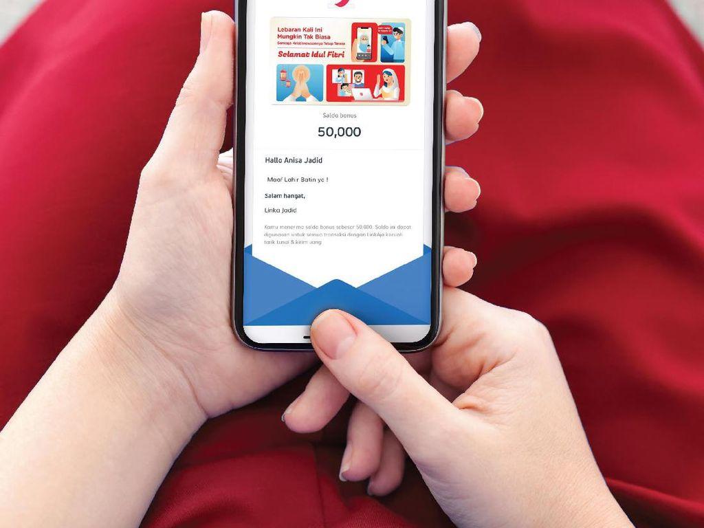 Kirim THR dengan Fitur Gift Card Lebaran LinkAja, Ini Caranya