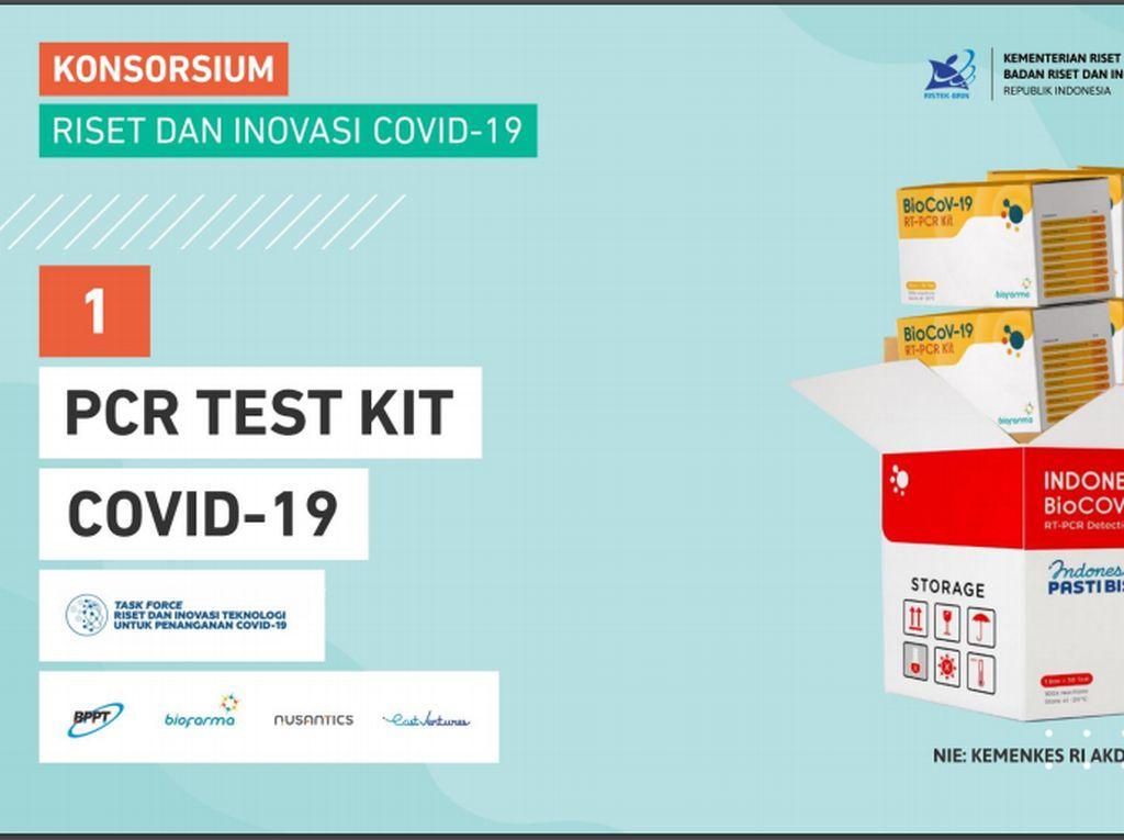 Diluncurkan Jokowi, Ini 9 Produk Riset untuk Penanganan COVID-19