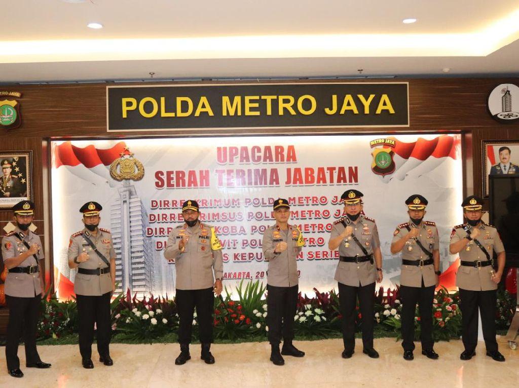 Polda Metro Gelar Sertijab 5 Pejabat Utama dengan Protokol COVID-19
