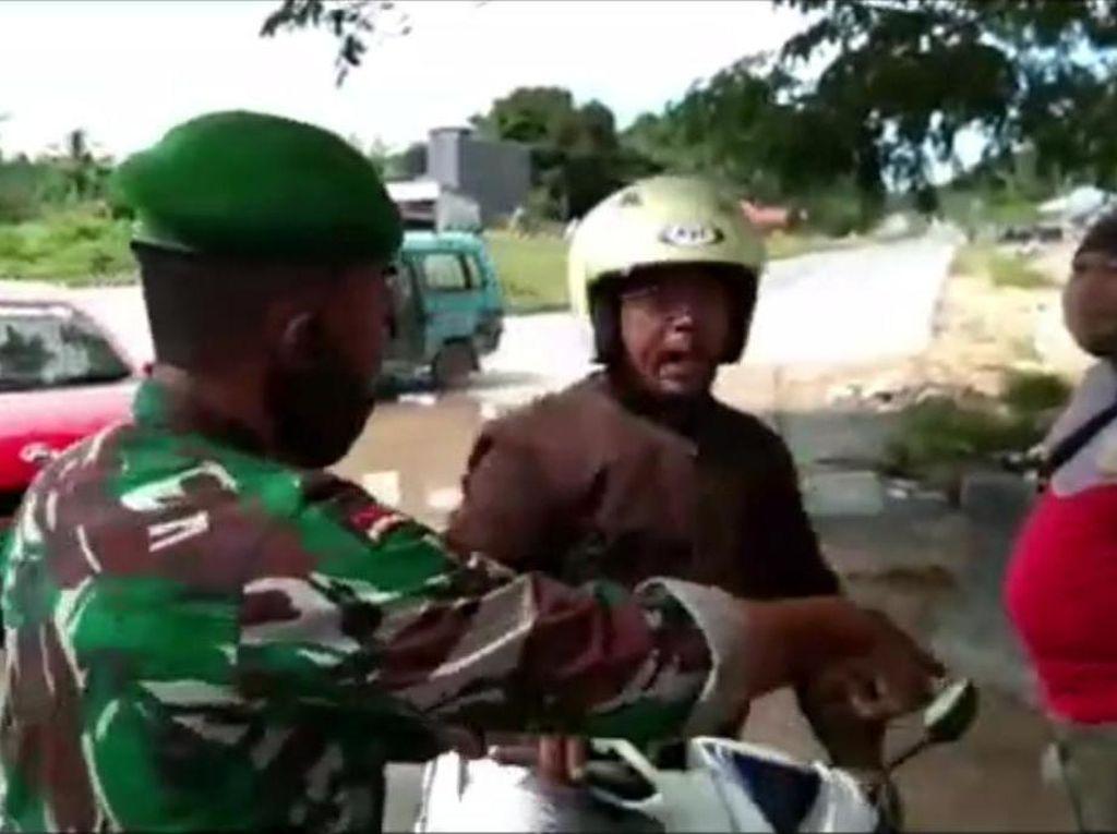 Viral Oknum Polisi di Sultra Tak Pakai Masker Melawan Petugas Gugus Tugas