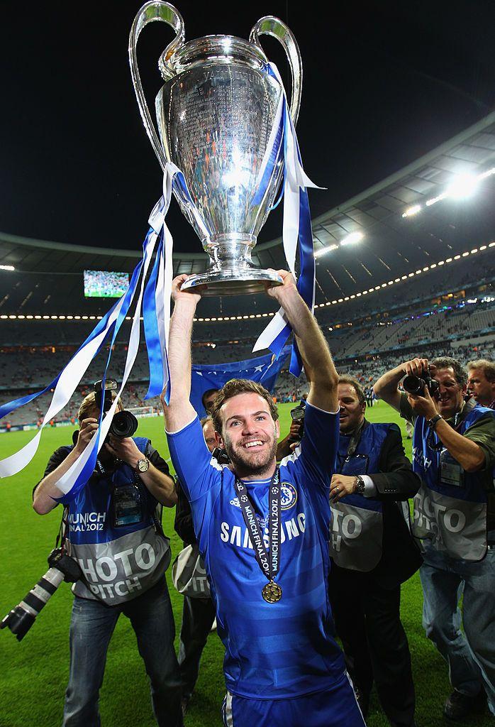 Juan Mata yang membawa Chelsea juara Liga Champions