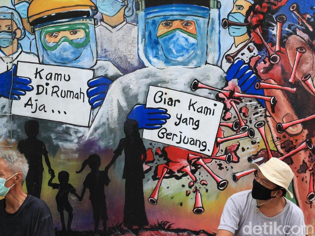 Kampanye Dukungan Lawan Corona Lewat Mural