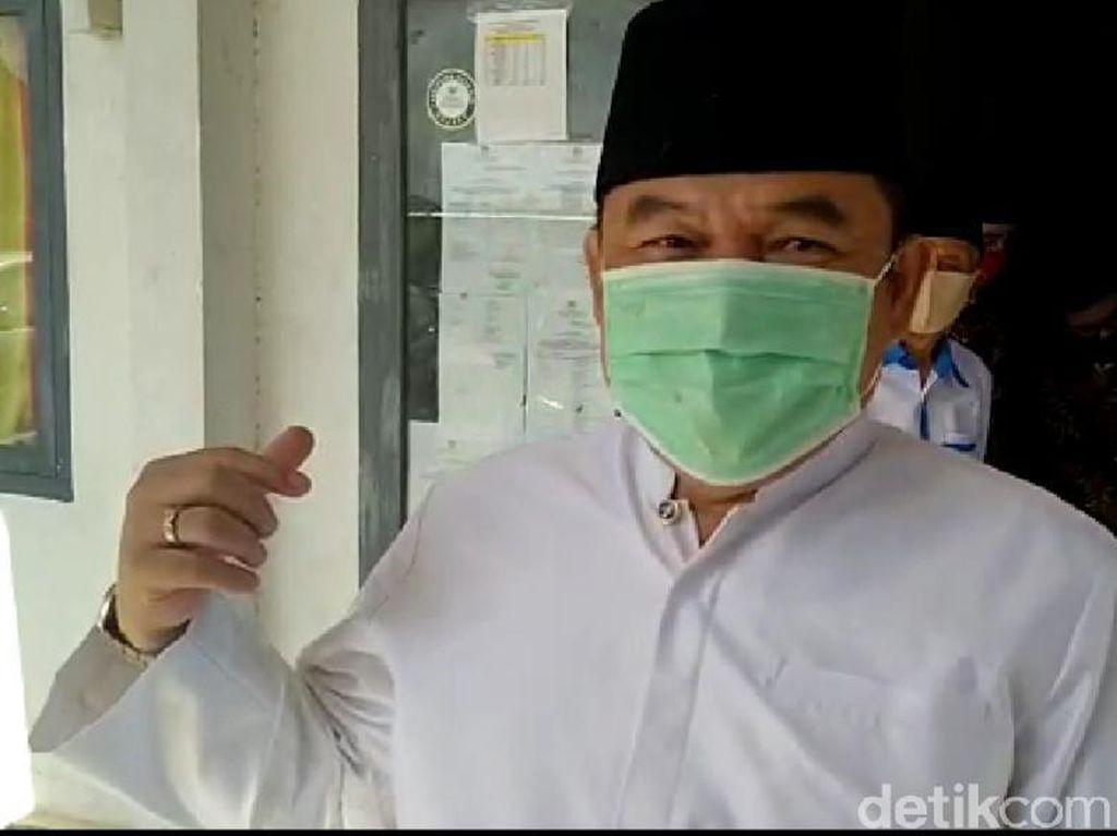 Kontroversi Bupati di Sumatera Umumkan Positif Corona Tatap Muka