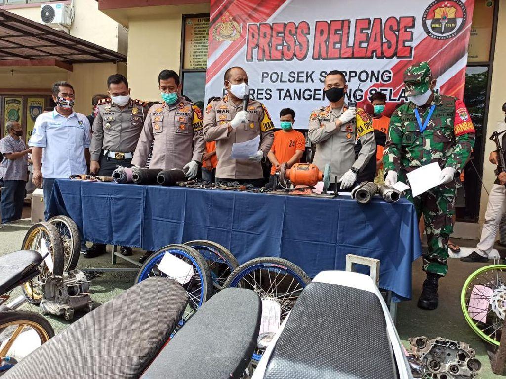 Langgar PSBB, 4 Pelaku Balap Liar Tutup Jl Serpong Dikenai UU Kekarantinaan