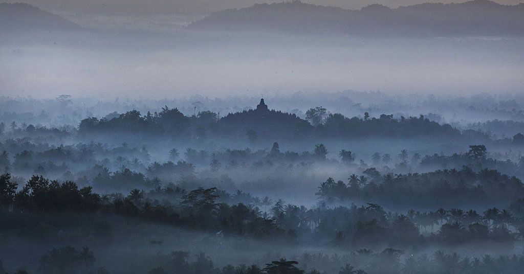 PT Taman Wisata Candi Borobudur, Prambanan, and Ratu Boko are planning to welcome tourists again starting June 8.  Later, tourists must go through a body temperature check and be given a sticker marker.