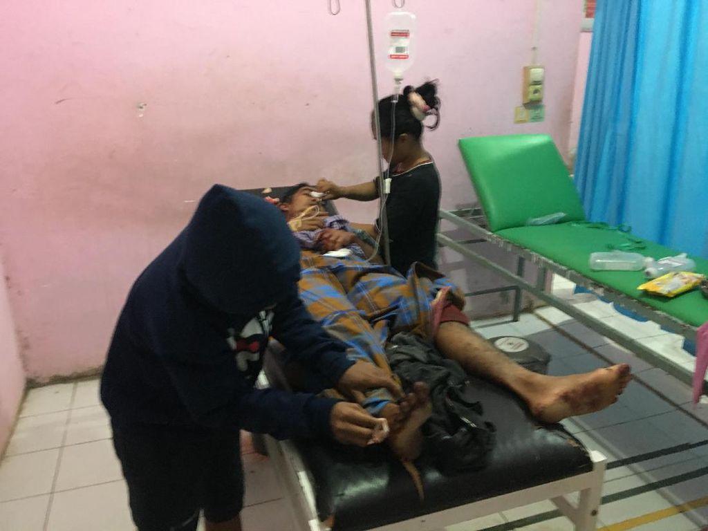 Terlibat Duel Pakai Sajam, 2 Petani di Polman Ditemukan Terluka Parah