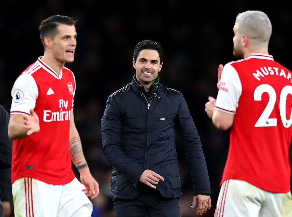 Arteta Datang, Arsenal Senang