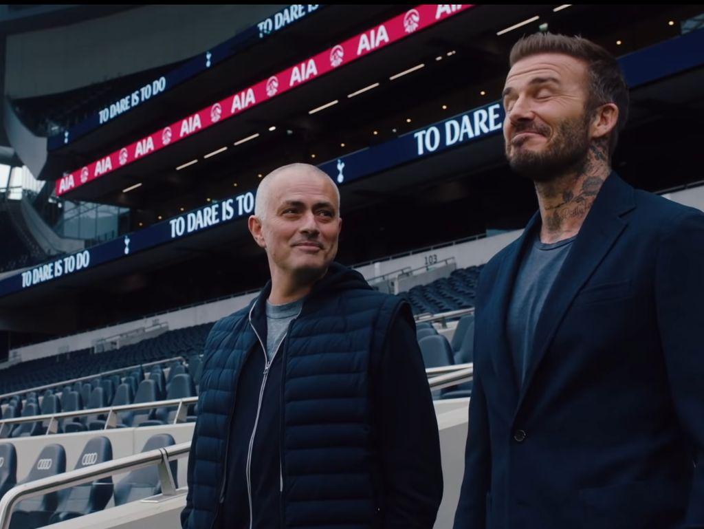 Saat Jose Mourinho Bilang David Beckham Beruntung