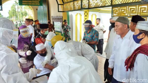 Tersinggung, Takmir Masjid di Sumenep Bubarkan Rapid Test yang Digelar Bupati