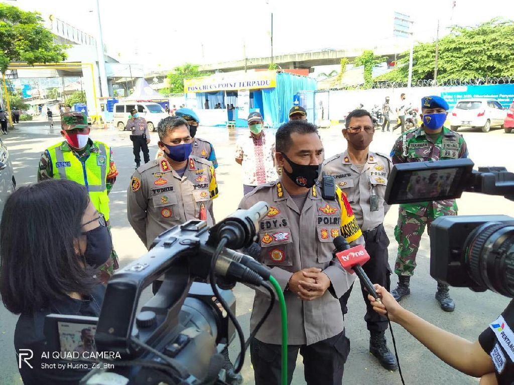 H-2 Lebaran, Polda Banten: Tak Ada Kendaraan Pribadi ke Merak