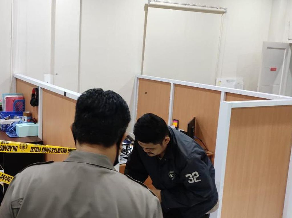 Polisi Kejar Maling Uang Brankas Kantor di Makassar