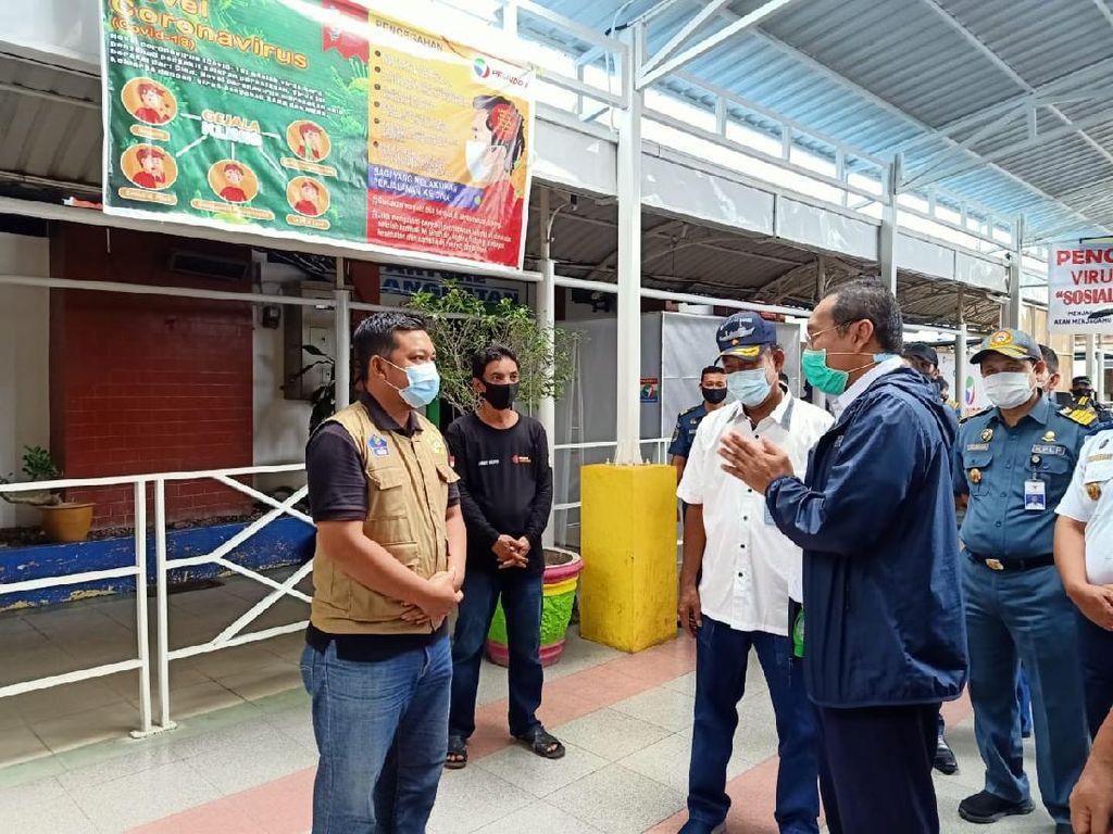 Jadi Tempat Pulang WNI dari Malaysia, Kemenhub Monitor Pelabuhan TBK