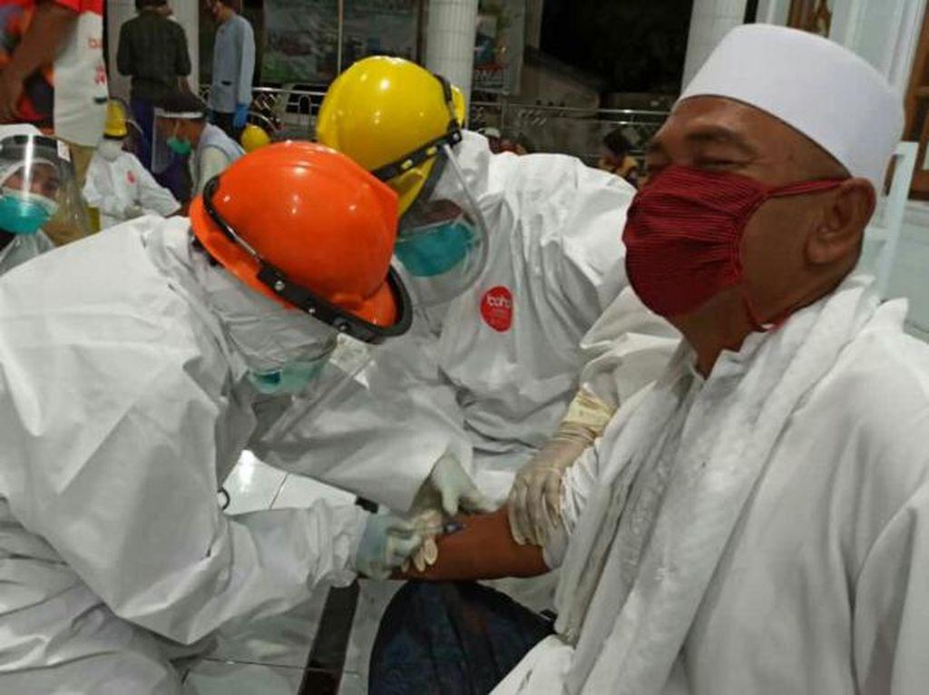 Jumlah Reaktif Hasil Rapid Test Jemaah Masjid di Situbondo Jadi 27 Orang