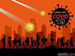 Ini Sebaran 3.222 Kasus Positif Corona Hari Ini, Terbanyak Masih di DKI