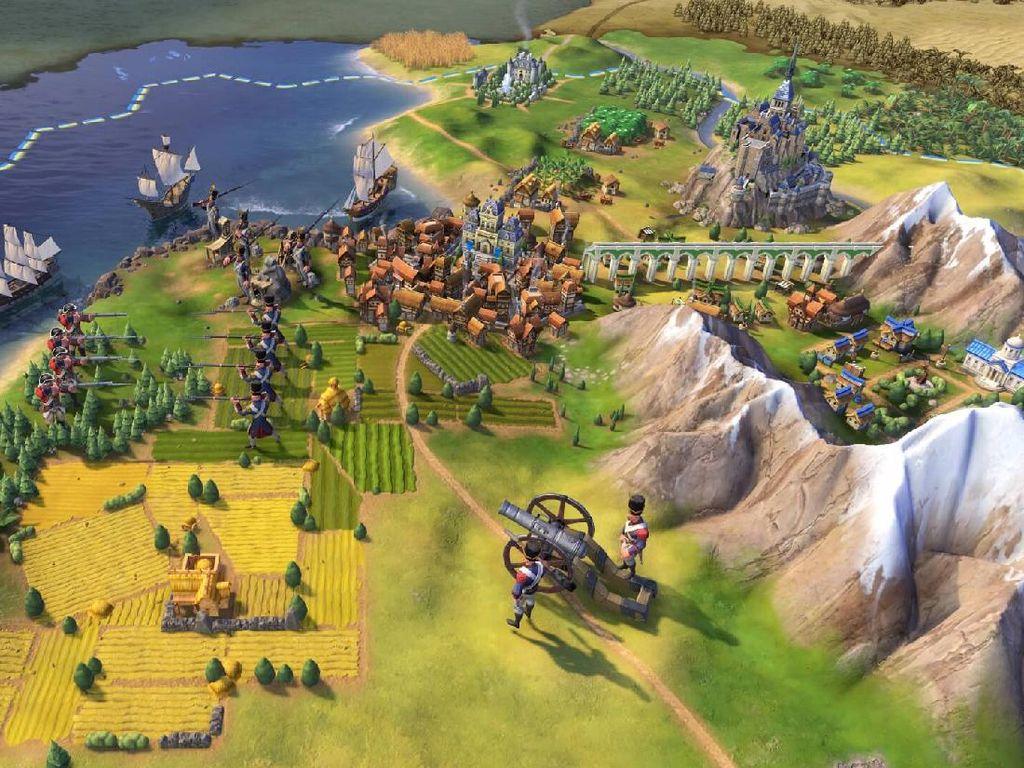 Setelah GTA V, Kini Civilization VI Gratis di Epic Games Store
