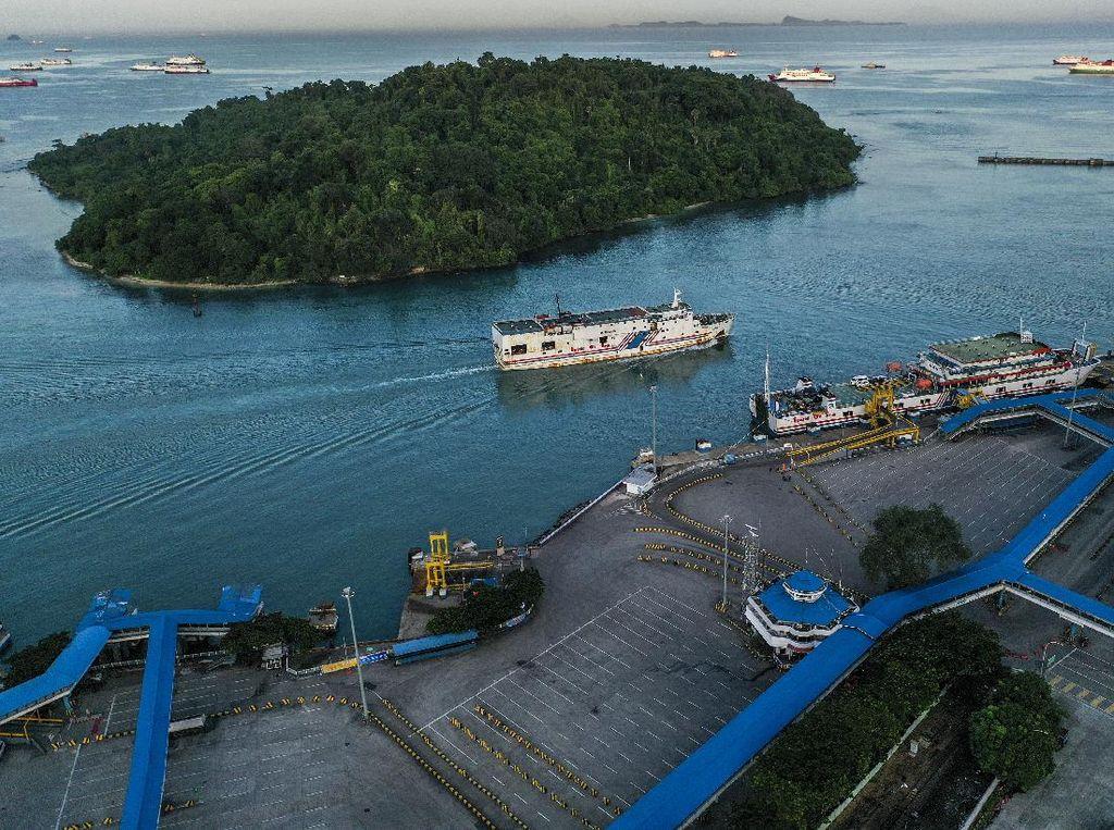 H-2 Jelang Lebaran, Pelabuhan Merak Sepi Penumpang