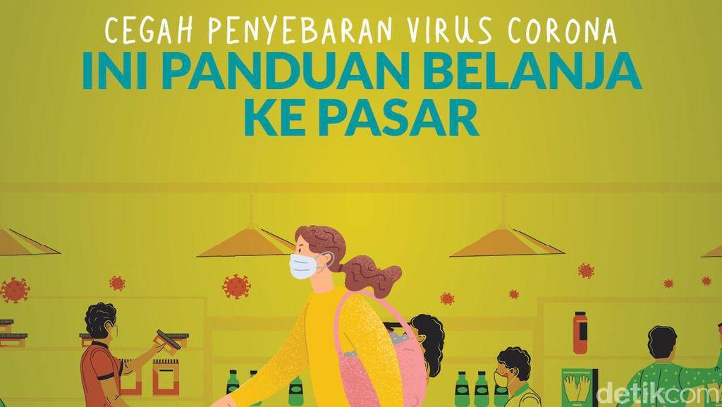 Tips Aman Belanja ke Pasar Saat Pandemi Corona