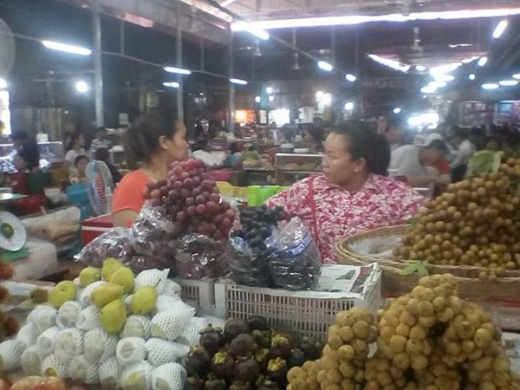 Mirip Indonesia, Seperti Ini Pasar Tradisional di Siem Reap Kamboja