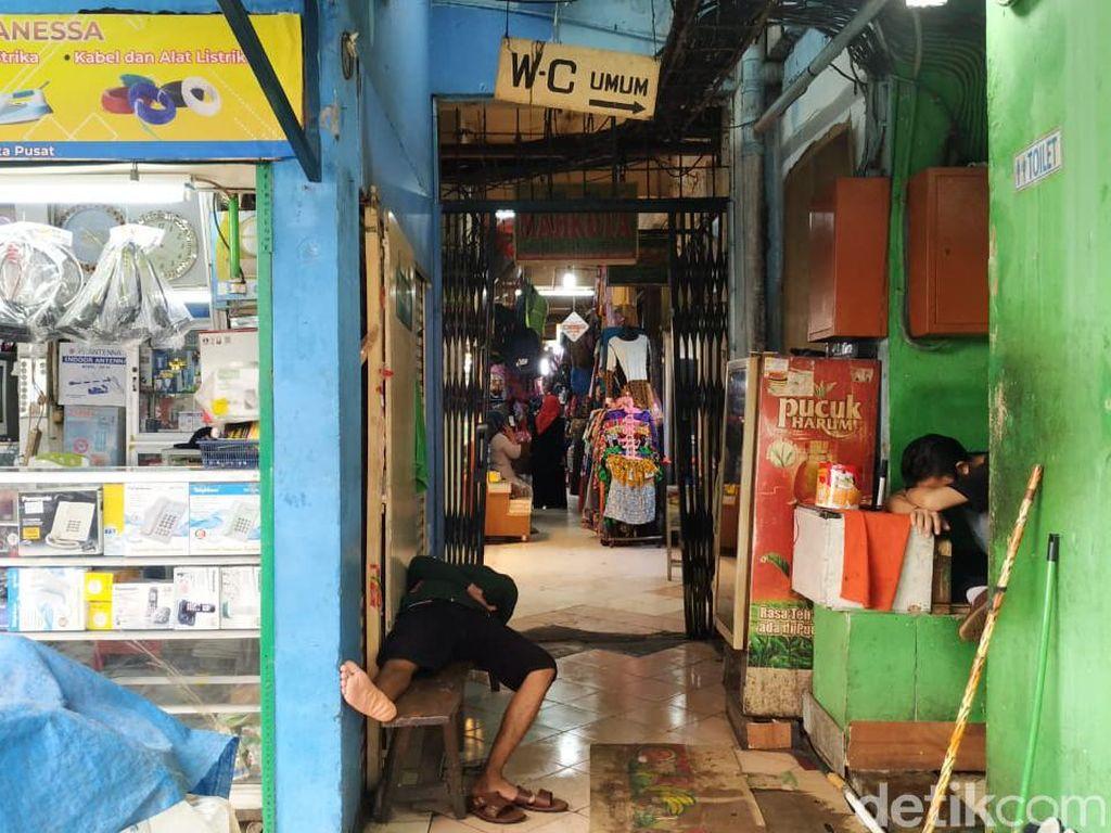 9 Pedagang Positif Corona, Pasar Palmerah Ditutup 3 Hari Mulai Besok