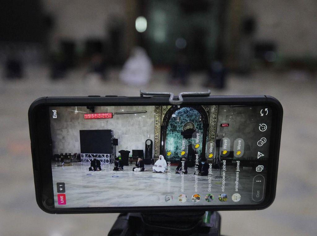 Masjid Sunda Kelapa Gelar Takbir Virtual