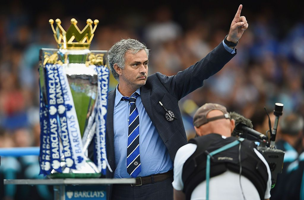 Jose Mourinho merajai Liga Inggris bersama Chelsea