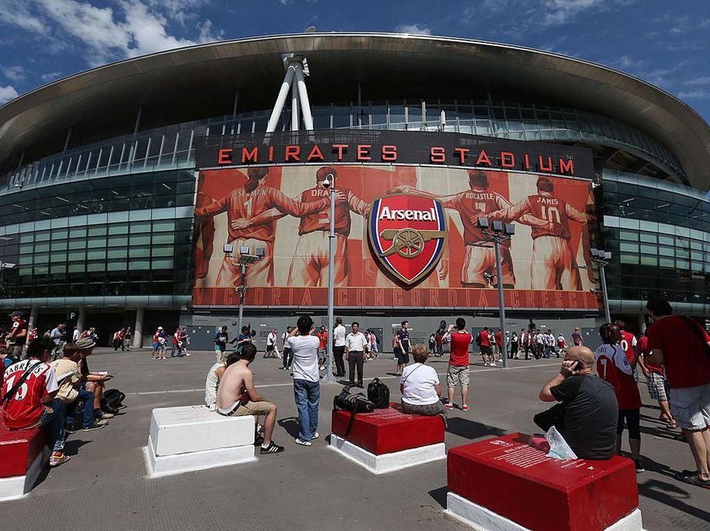 Ikuti Jejak MU, Arsenal Kembalikan Uang Tiket Suporter