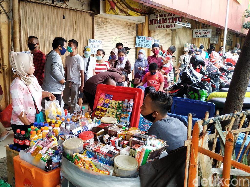Pasar Kebayoran Lama Ditutup Sementara Imbas 14 Pedagang Positif Corona