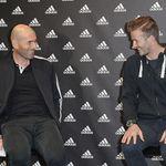 Bahagianya David Beckham, Diucapkan Terima Kasih oleh Zidane