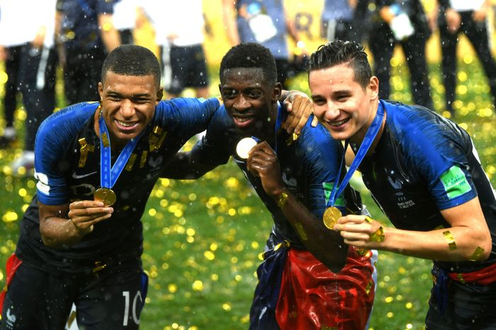 Medali Piala Juara Dunia 2018
