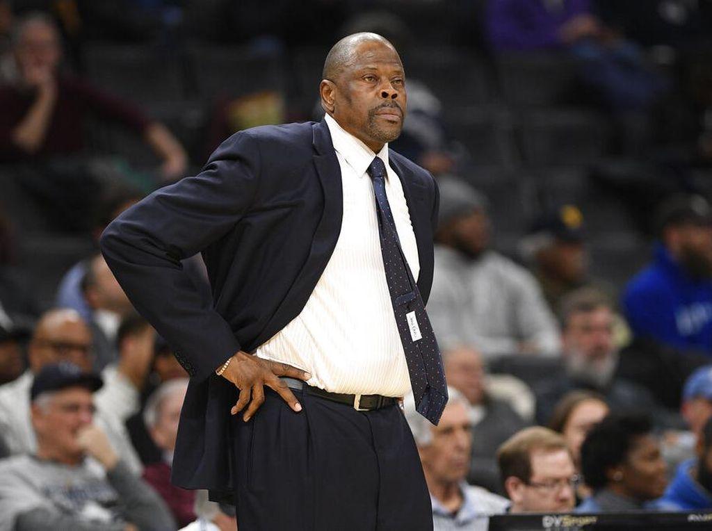 Legenda New York Knicks, Patrick Ewing, Positif Corona