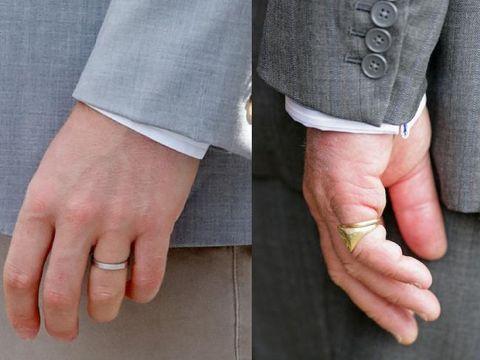 Cincin kawin Pangeran Harry dan Pangeran Charles