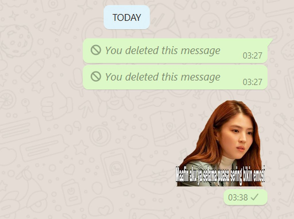 Cara Bikin Stiker Selamat Lebaran di WhatsApp