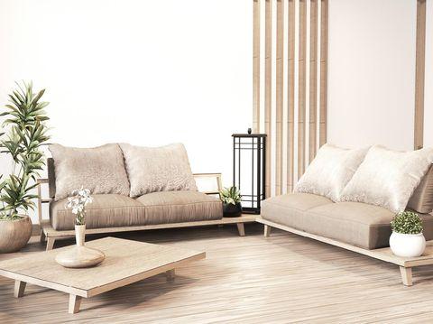 10 tips menata rumah minimalis bergaya korea, ruang tamu