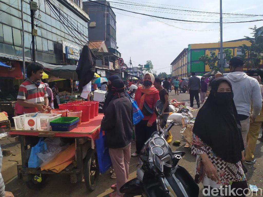 3 Pedagang Positif Corona, Pasar di Pasar Minggu Tutup 3 Hari