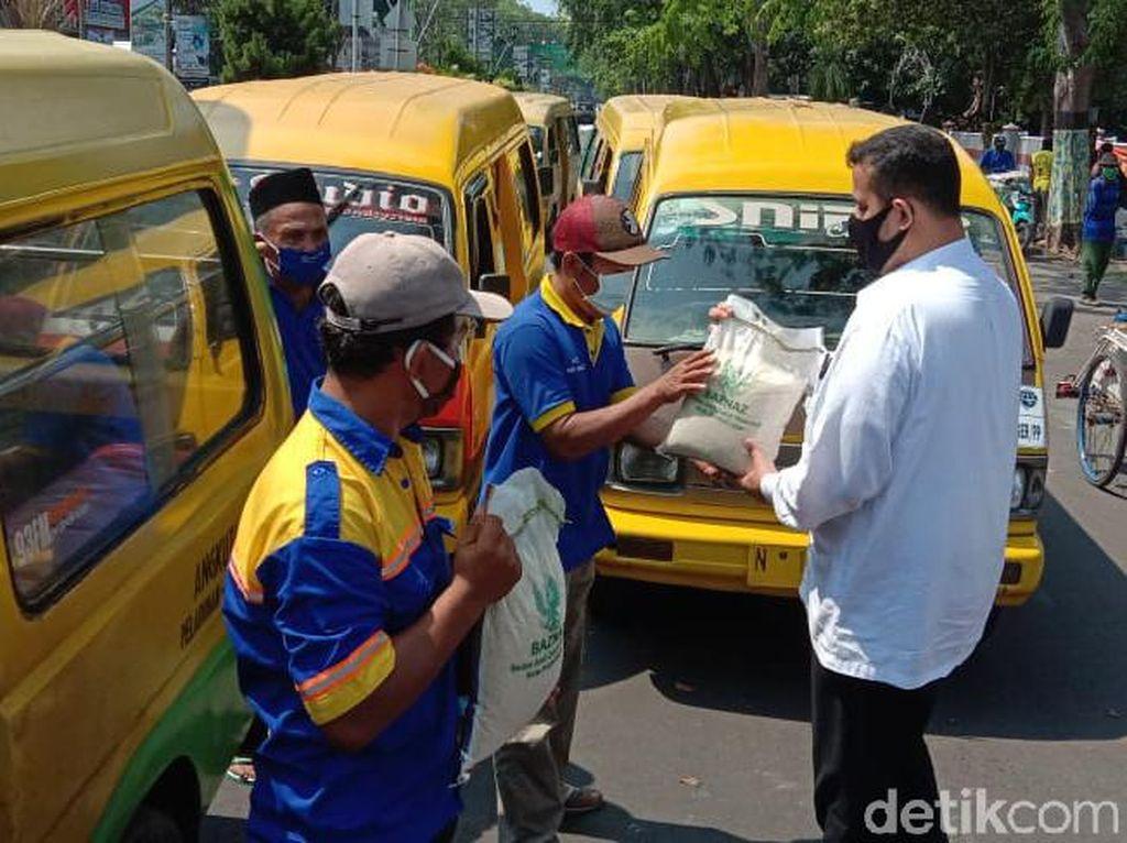Warga Terdampak Corona di Kota Probolinggo Kembali Terima Bantuan