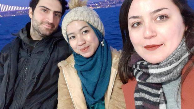 Kegiatan penulis Surat dari Rantau selama di Ankara, Turki. (Dok. Zakiya Nufus)
