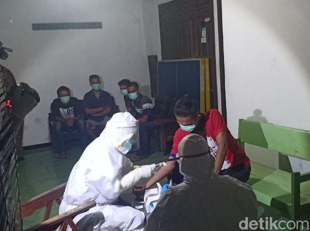 7 Warga Madiun yang Pesta Miras Dekat Masjid Di-rapid Test