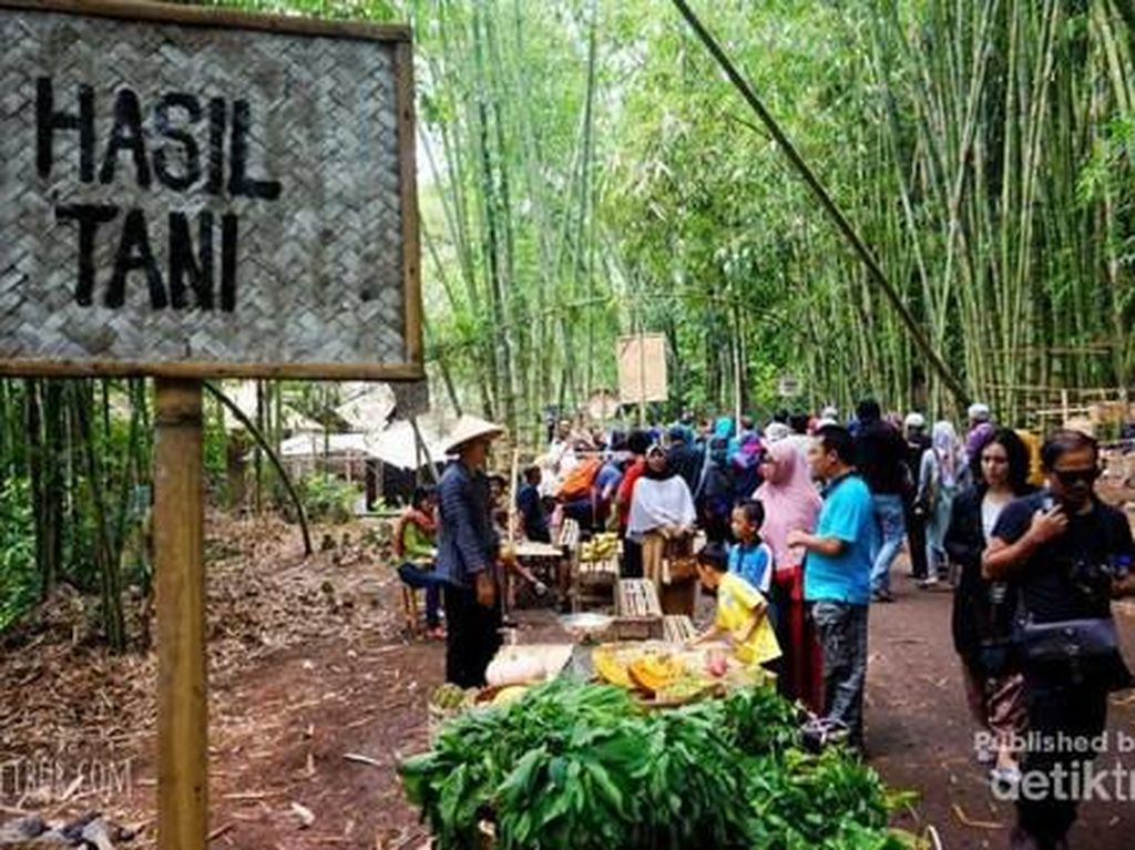Pasar Papringan, Wisata Kuliner Tradisional dari Temanggung