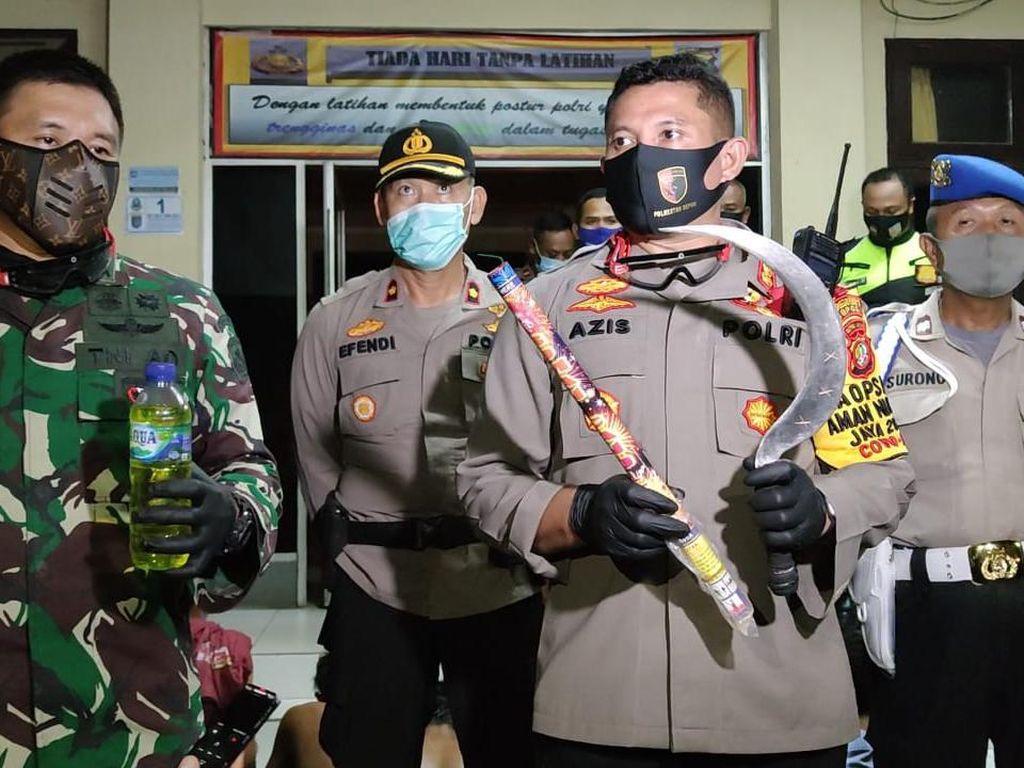 Konvoi Bawa Sajam-Miras di Malam Takbiran, 12 ABG di Depok Ditangkap