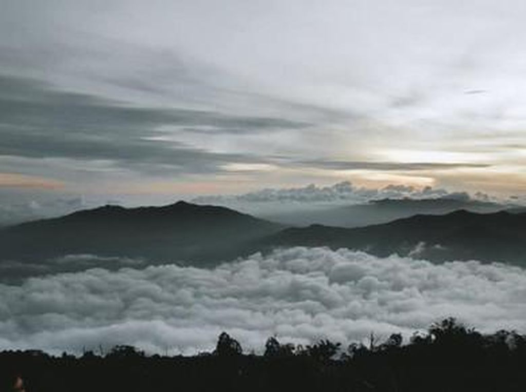 Pagi yang Eksotis dari Gunung Prau