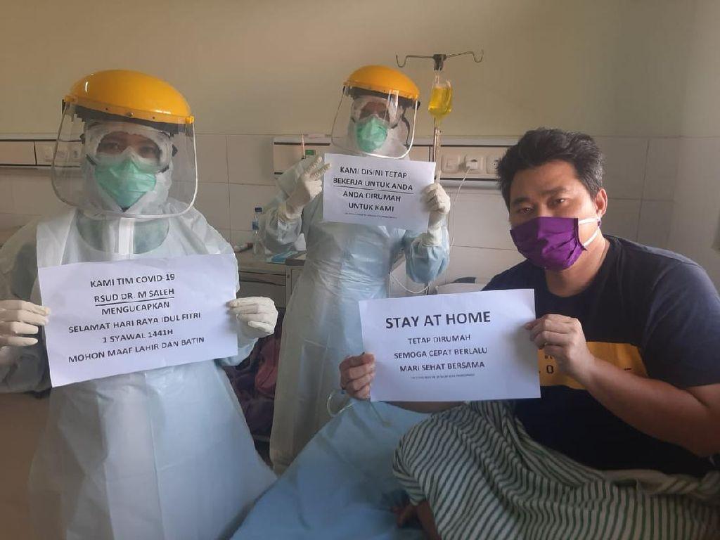 Cerita Tenaga Medis Kota Probolinggo yang Lebaran Bareng Pasien Corona