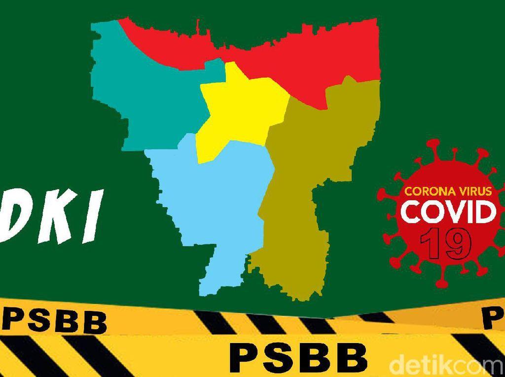 PSBB Transisi Fase I DKI Diperpanjang sampai 10 September