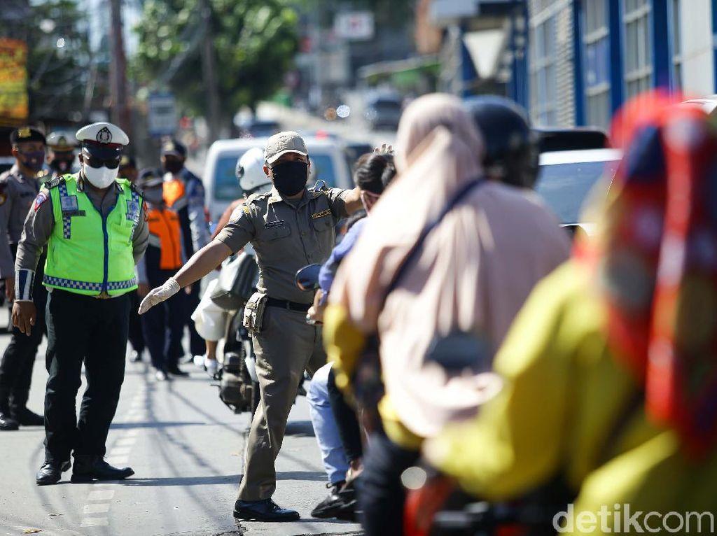 Antisipasi Mudik Lokal, Petugas Gabungan Perketat Pengamanan