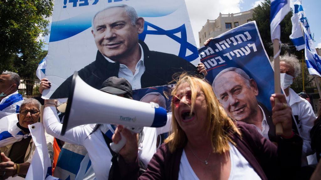 Protes Perdana Menteri Israel Terus Bergulir