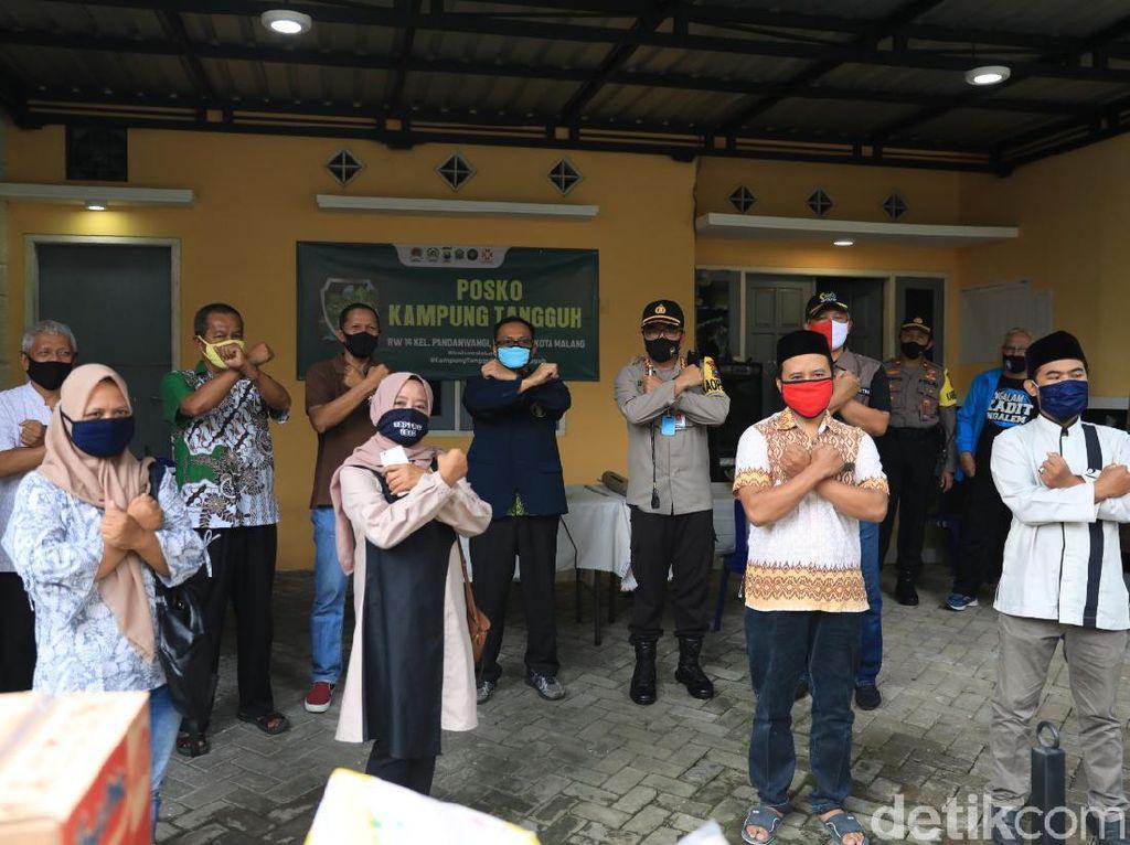 69 Kampung Tangguh di Malang Siap Berjuang Hadapi Pandemi Corona