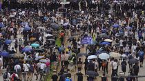 Hong Kong Ricuh Lagi di Tengah Gawat Pandemi