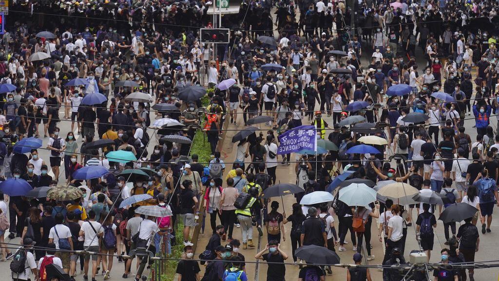 Duh! Hong Kong Kembali Ricuh di Tengah Pandemi Corona
