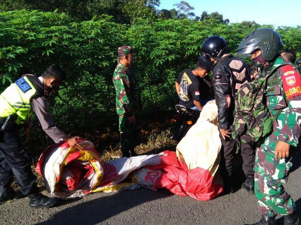 Petugas Sita 6 Balon Udara dan Amankan 2 Warga di Wonosobo